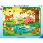 Frame Puzzle - Farm animals