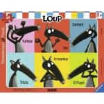 Frame Puzzle - Loup