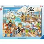 Frame Puzzle - Pirates