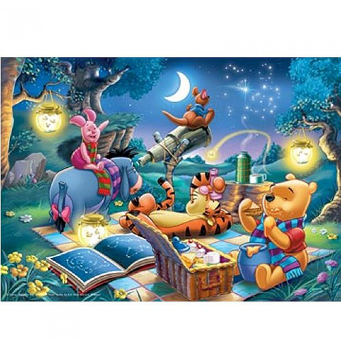 Jigsaw Puzzle - 1000 Pieces - Winnie the Pooh : Looking at the Stars
