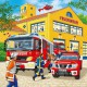 Jigsaw Puzzle - 3 x 49 Pieces : Firemen at Work