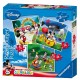 Jigsaw Puzzles - 25, 36, 49 Pieces - Progressive Puzzle - 3 in 1 - Mickey Mouse Clubhouse