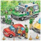 Jigsaw Puzzles - 49 Pieces - 3 in 1 - Police Forces