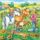 Jigsaw Puzzles - 49 Pieces each - 3 in 1 - Farm Animals