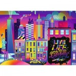 Puzzle   Live Life Colorfully, NYC