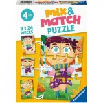 Mix and Match Puzzles - Clothes