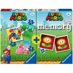 Multipack Super Mario - Memory and 3 Puzzles