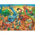 Puzzle  Ravensburger-Safari-09517 Construction Crew