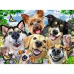 Puzzle   Selfies Dogs' Delight