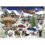 Puzzle   Snowy Village