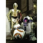 Puzzle   Star Wars - C-3PO, R2-D2 & BB-8