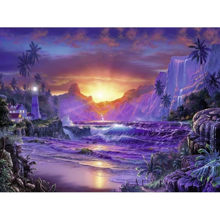 Sunrise in Paradise Puzzle 1500 pieces