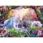 Puzzle   XXL Pieces - Magic Unicorns
