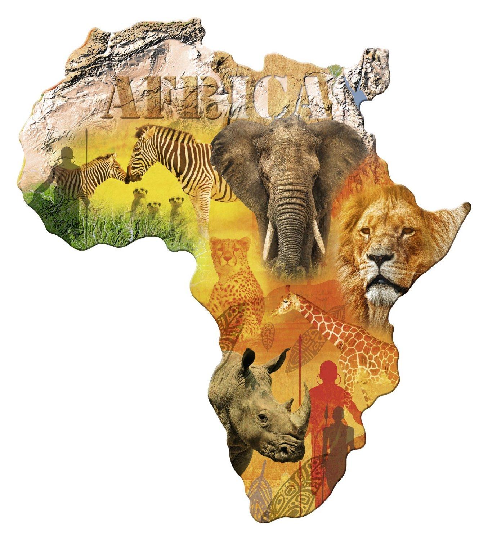 Silhouette puzzle africa ravensburger 16157 1114 pieces jigsaw silhouette puzzle africa gumiabroncs Images
