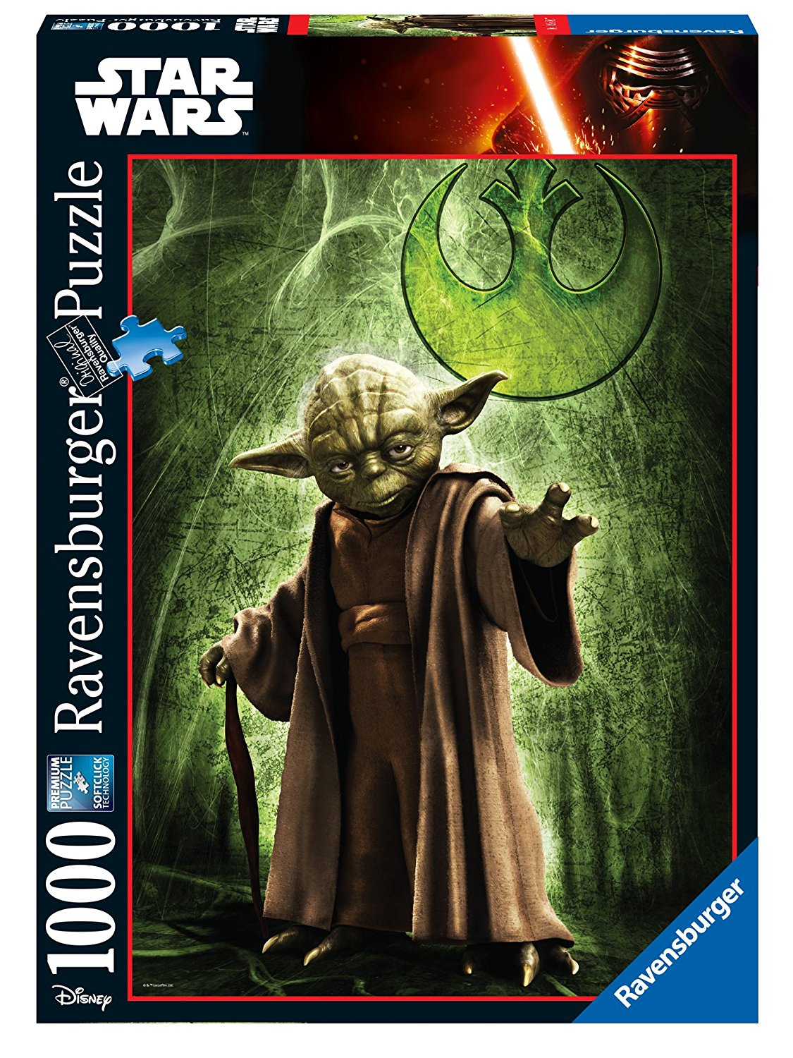 puzzle star wars ravensburger 19680 1000 pieces jigsaw puzzles other disney jigsaw puzzle. Black Bedroom Furniture Sets. Home Design Ideas
