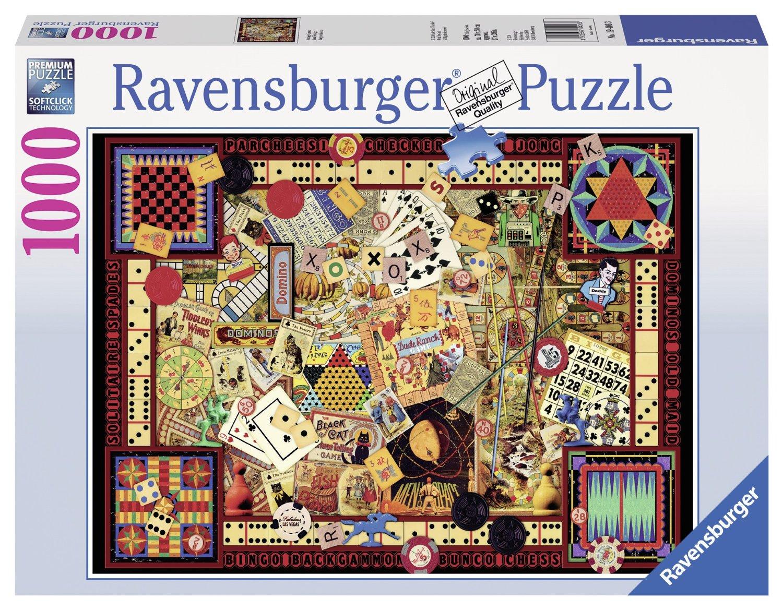 Puzzle vintage games ravensburger 19406 1000 pieces jigsaw puzzles vintage games gumiabroncs Images