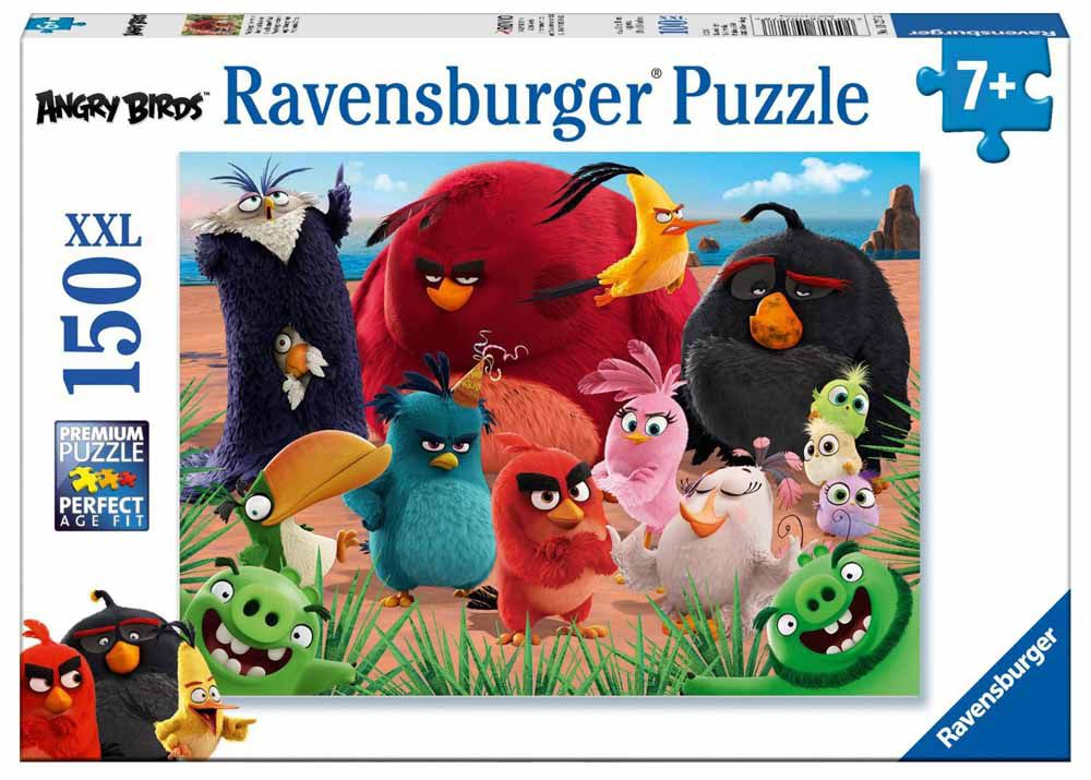 Puzzle XXL Pieces  Angry Birds Ravensburger10032 150