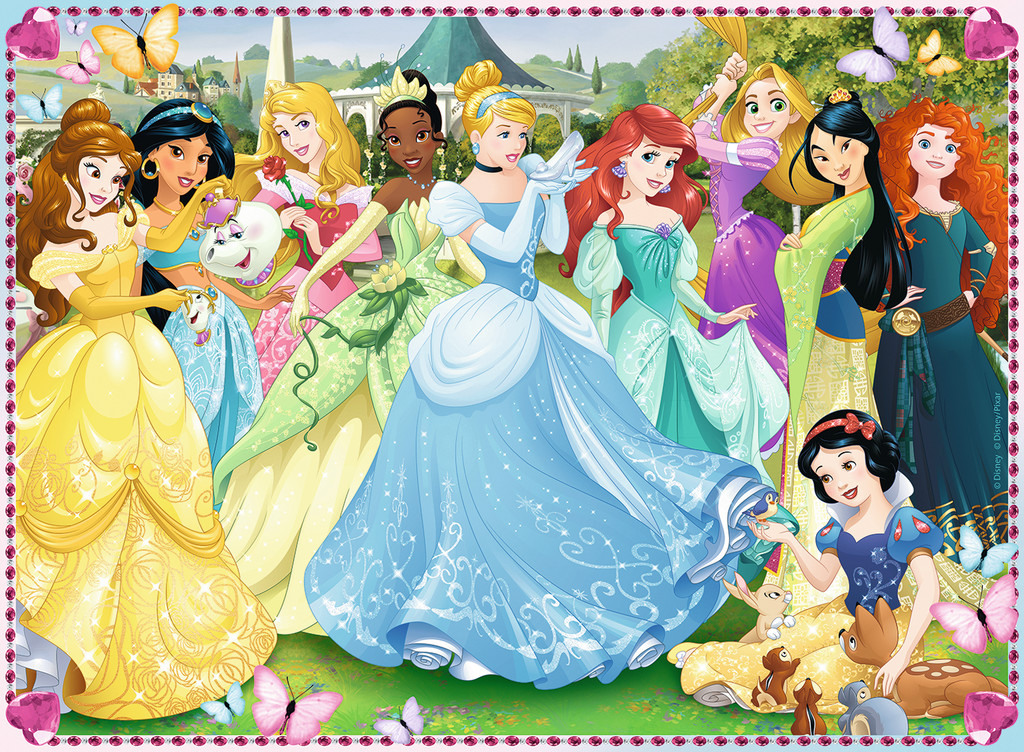 Puzzle XXL Pieces - Disney Princess Ravensburger-10938 100 ...