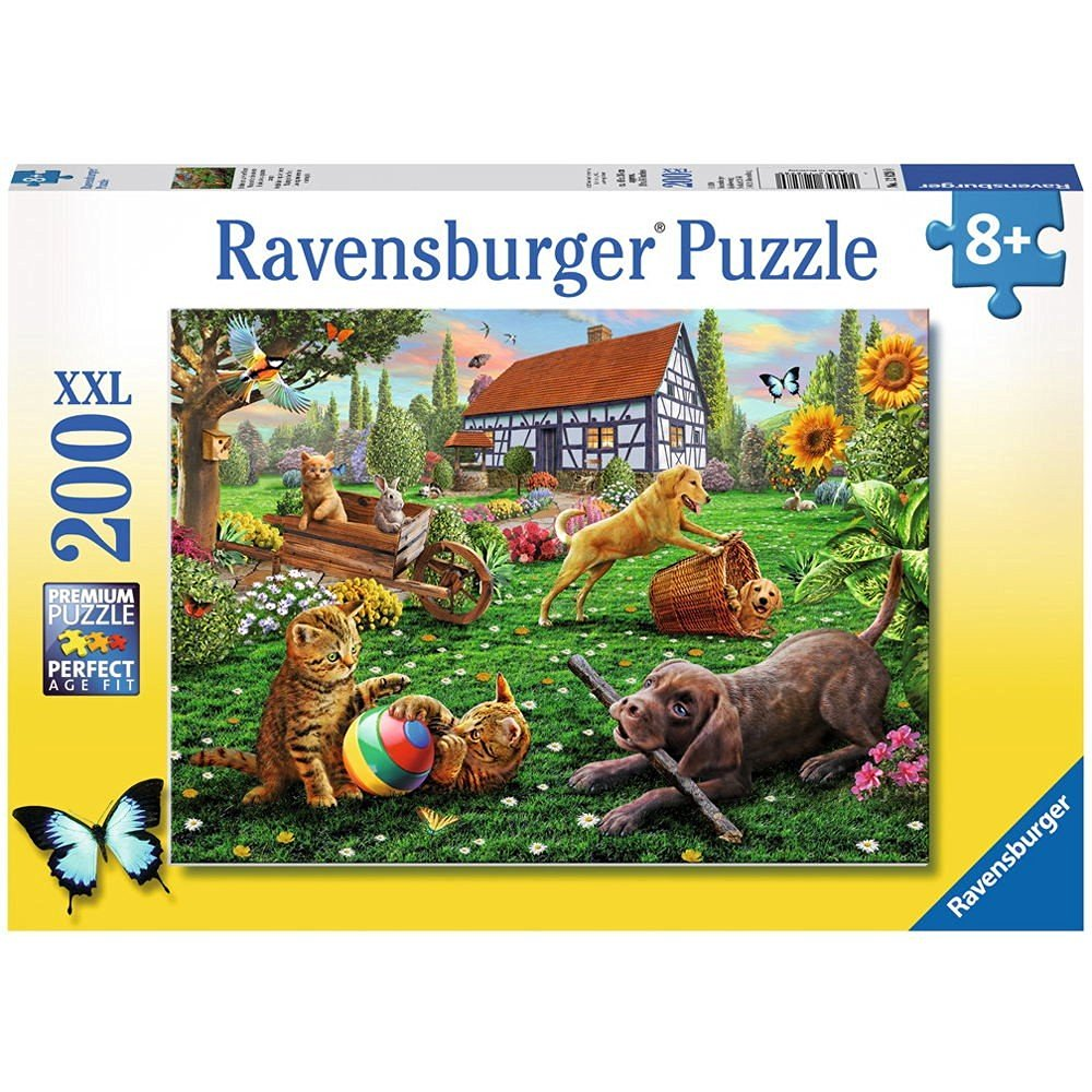 puzzle xxl pieces explorers with 4 paws ravensburger. Black Bedroom Furniture Sets. Home Design Ideas