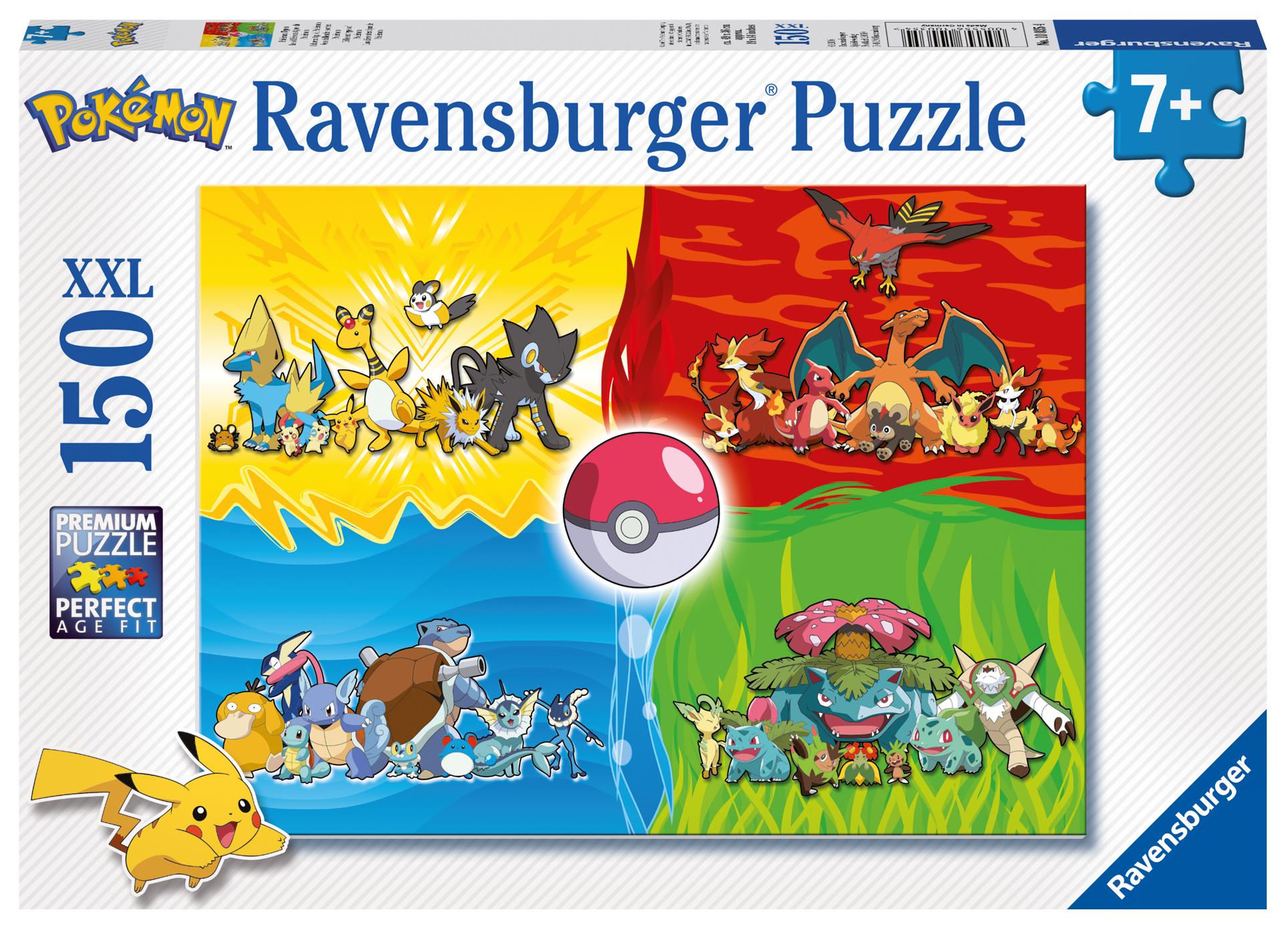 Uncategorized Pokemon Jigsaw Puzzle puzzle xxl pieces ravensburger 10035 150 jigsaw pieces