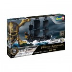 Revell-05499 Plastic Model Kit - 3D Puzzle Easy Click System - Black Pearl