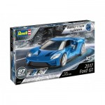Plastic Model Kit - 3D Puzzle Easy Click System - 2017 Ford GT