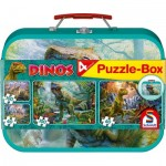 4 Puzzles - Dinosaurs