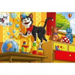 Schmidt-Spiele-55014 Jigsaw Puzzles - 60 Pieces - Schmidt's Cat