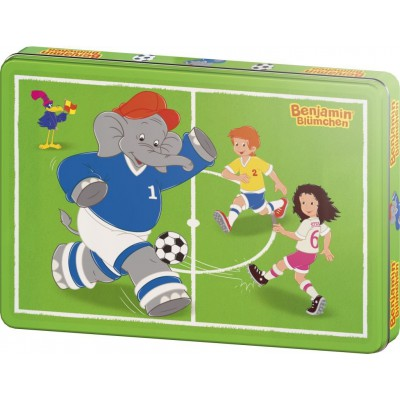 Schmidt-Spiele-55545 Jigsaw Puzzle - 60 Pieces - Benjamin the Elephant : Off we go !