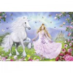 Schmidt-Spiele-55565 Jigsaw Puzzle - 100 Pieces - Unicorn Princess