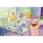 Schmidt-Spiele-56029 Jigsaw Puzzle - 60 Pieces - Sorgenfresser : At the Hospital