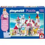 Puzzle  Schmidt-Spiele-56041 Playmobil: The princess castle