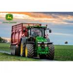 Puzzle  Schmidt-Spiele-56043 John Deere Tractor 8370R