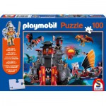 Puzzle  Schmidt-Spiele-56074 Playmobil: Asia, the land of Dragons