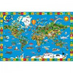 Puzzle  Schmidt-Spiele-56118 The land of all colors