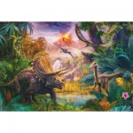 Puzzle  Schmidt-Spiele-56129 The Valley of the Dinosaurs