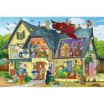 Puzzle  Schmidt-Spiele-56151 Bibi Blocksberg