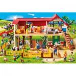 Puzzle  Schmidt-Spiele-56163 Playmobil, The Farm