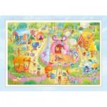 Puzzle  Schmidt-Spiele-56170 Sorgenfresser: Manege free!