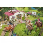 Puzzle  Schmidt-Spiele-56190 Ride into the countryside