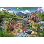 Puzzle  Schmidt-Spiele-56192 Dinosaurs