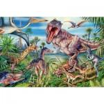 Puzzle  Schmidt-Spiele-56193 Dinosaurs