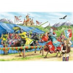 Puzzle  Schmidt-Spiele-56204 In the knights