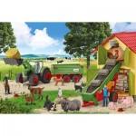 Puzzle  Schmidt-Spiele-56241 Farm Animals