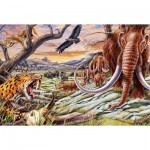 Puzzle  Schmidt-Spiele-56251 Animals of the Ice Age