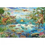 Puzzle  Schmidt-Spiele-56253 Dinosaurs