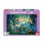 Puzzle  Schmidt-Spiele-56254 In the land of mythical creatures