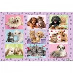 Puzzle  Schmidt-Spiele-56268 My animal friends