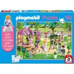Puzzle  Schmidt-Spiele-56271 Playmobil - Wedding