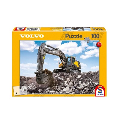 Puzzle Schmidt-Spiele-56286 Volvo EC380E